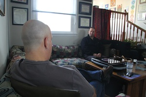 Rusty Stewart PhD conducting a Psychotherapy Philadelphia session.